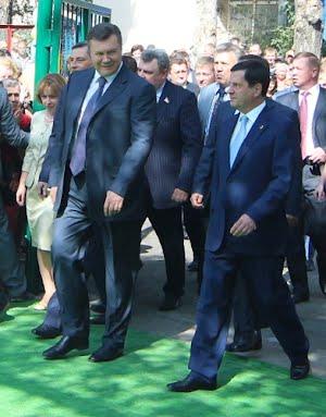 Президент Украины Виктор Янукович посетил Одесскую область