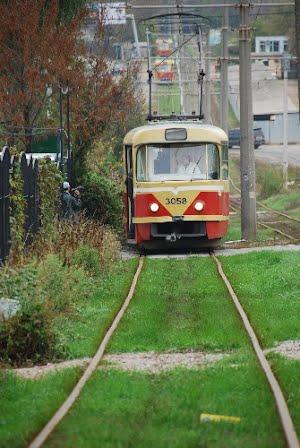От Рыбпорта до Пересыпи на трамвайном поезде