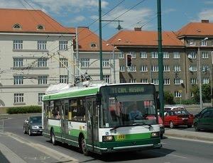 На городские маршруты выйдут чешские троллейбусы