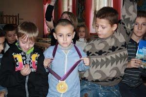 Подарки воспитанникам школы-интерната
