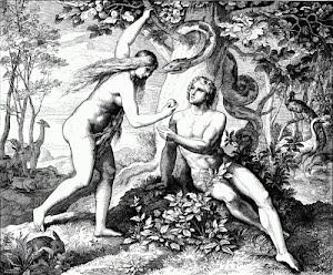 Объясните, почему первородный грех, совершенный Адамом и Евой, перешел на их потомков?